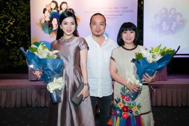 Hương Lan đặt nhiều câu hỏi khi được mời sô tại TP.HCM - ảnh 1