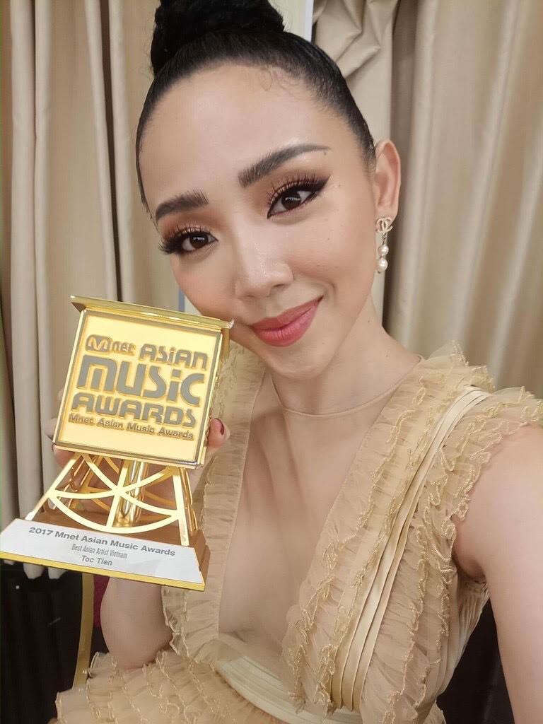 Tóc Tiên, Sơn Tùng M-TP cùng thắng ở MAMA - ảnh 1