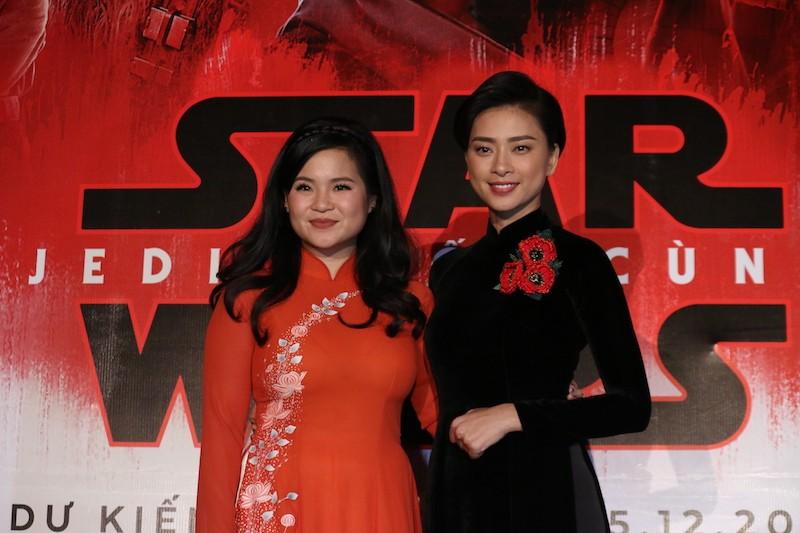 Cô gái nghe điện thoại gốc Việt vào đóng Star Wars - ảnh 4