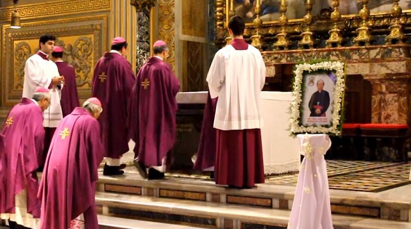 Ngày 15-3, linh cữu Đức Tổng Giám mục Bùi Văn Đọc về TP - ảnh 1