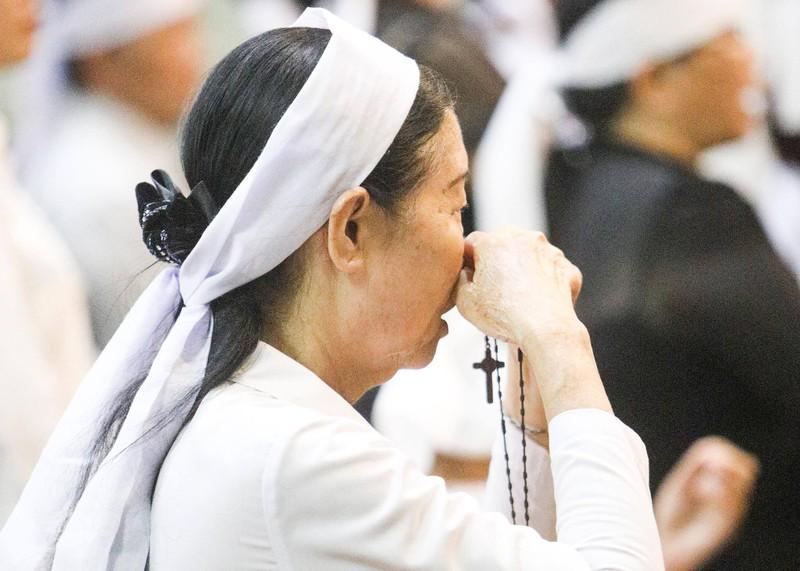 Phó Thủ tướng Trương Hòa Bình viếng lễ tang Đức Tổng - ảnh 8