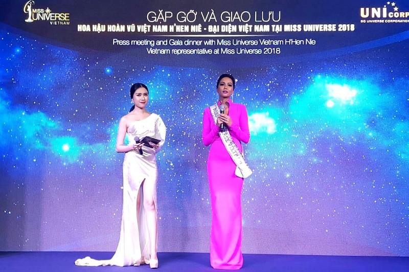 H'Hen Niê cần phiên dịch để thi ứng xử tại Miss Universe - ảnh 1