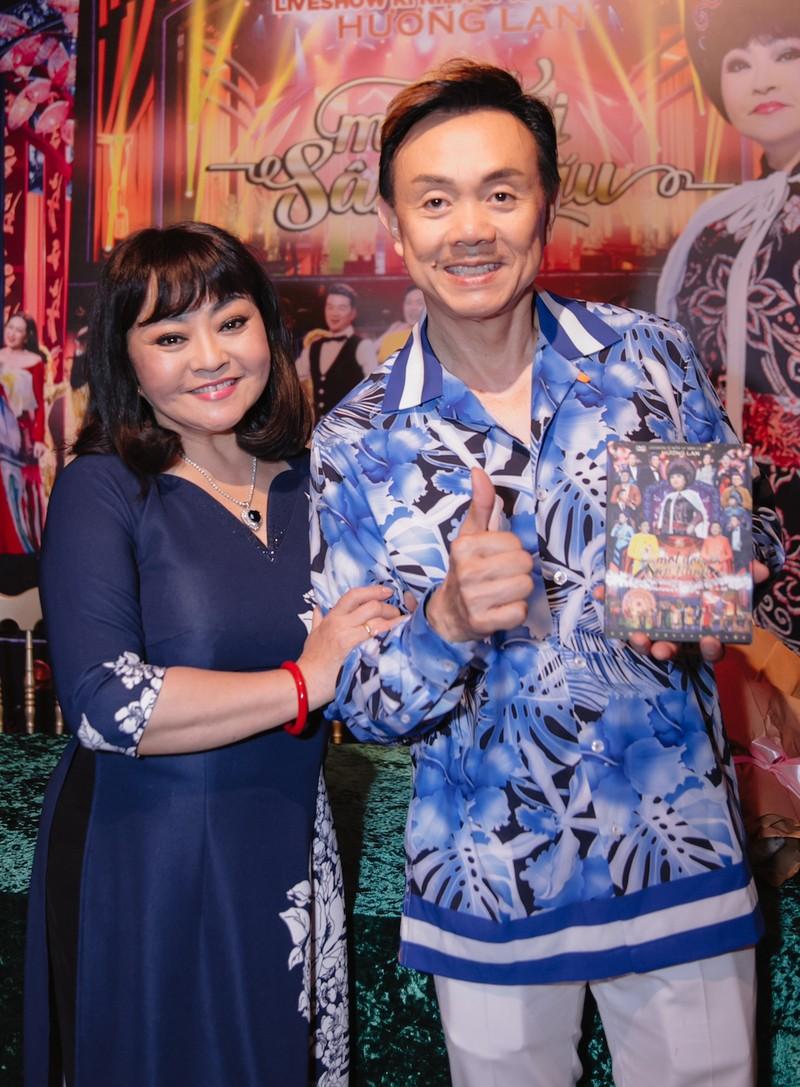 Danh ca Hương Lan và DVD cuối cùng kỷ niệm cuộc đời - ảnh 4