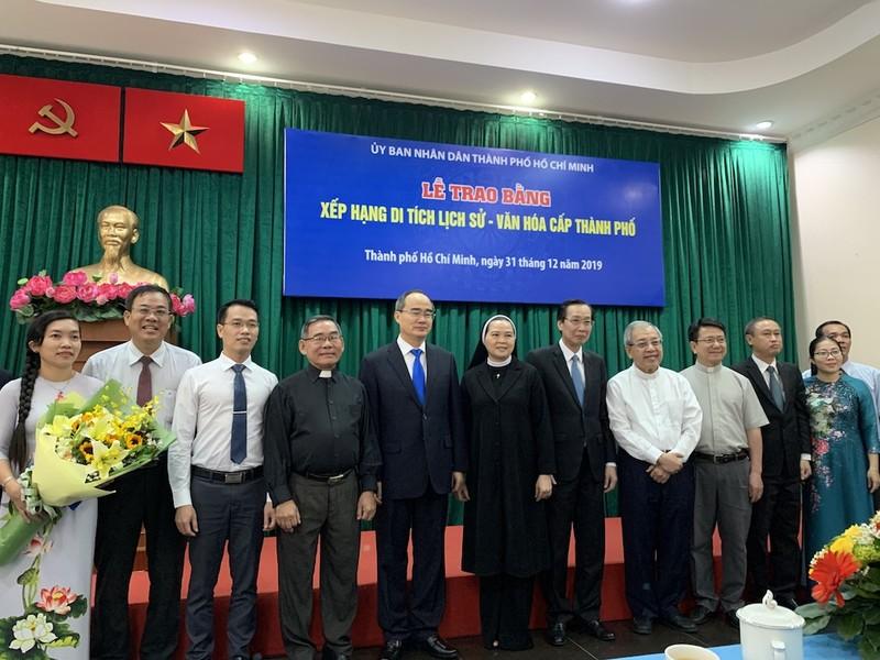 Xếp hạng di tích bốn địa danh Công giáo ở Sài Gòn từ thế kỷ 19 - ảnh 1