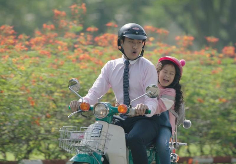 Kiều Minh Tuấn, Ngân Chi gây xúc động với tình cha con - ảnh 3