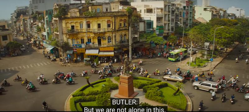 Tượng Phan Đình Phùng ở Sài Gòn vào phim Mỹ - ảnh 1