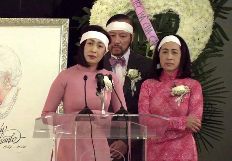 Lễ tang hồng của danh ca Thái Thanh với 'Nghìn trùng xa cách' - ảnh 2