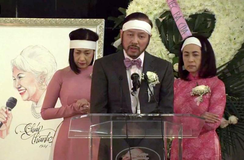 Lễ tang hồng của danh ca Thái Thanh với 'Nghìn trùng xa cách' - ảnh 3