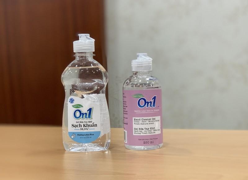 Gel rửa tay khô On1 không thay đổi chất lượng sản phẩm - ảnh 2