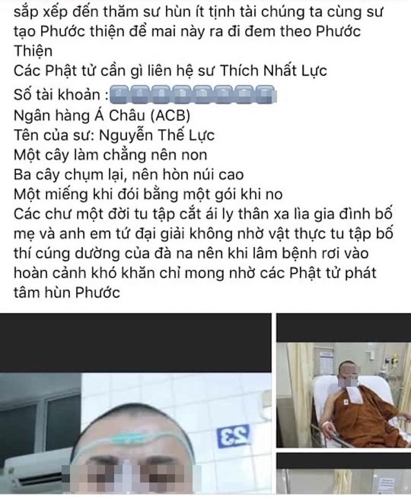 Trang giả Lại Văn Sâm kêu gọi chuyển tiền giúp linh mục bị nạn - ảnh 5
