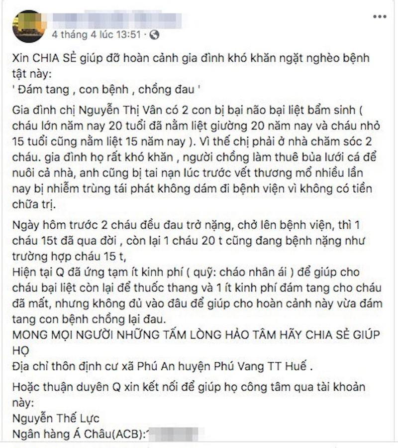 Trang giả Lại Văn Sâm kêu gọi chuyển tiền giúp linh mục bị nạn - ảnh 4