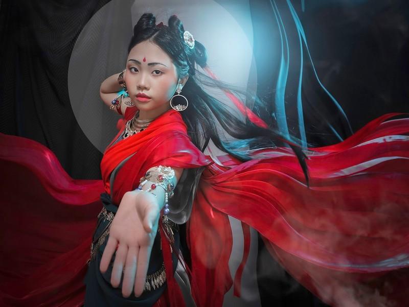 Phương Mỹ Chi sẽ hát tiếng Phạn trong tạo hình ảo diệu - ảnh 1