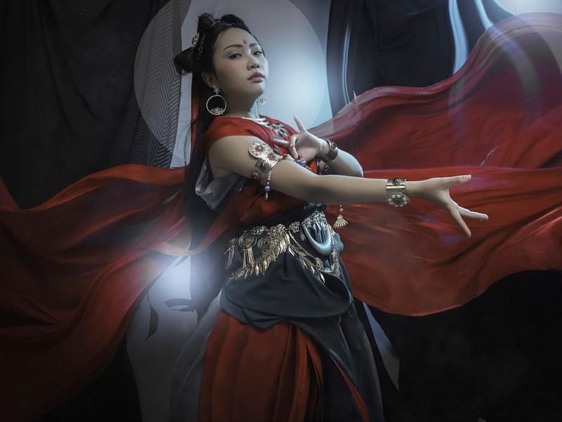 Phương Mỹ Chi sẽ hát tiếng Phạn trong tạo hình ảo diệu - ảnh 4