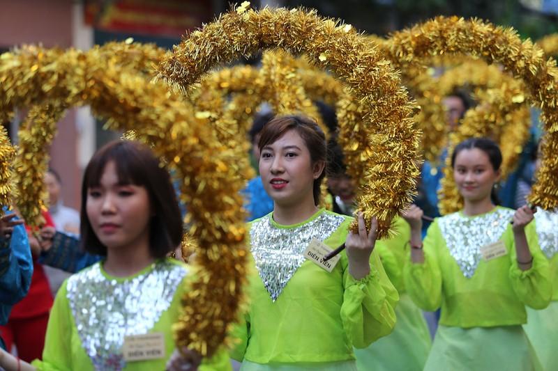 Rộn ràng lễ đón nhận di sản Tết Nguyên tiêu người Hoa quận 5 - ảnh 3
