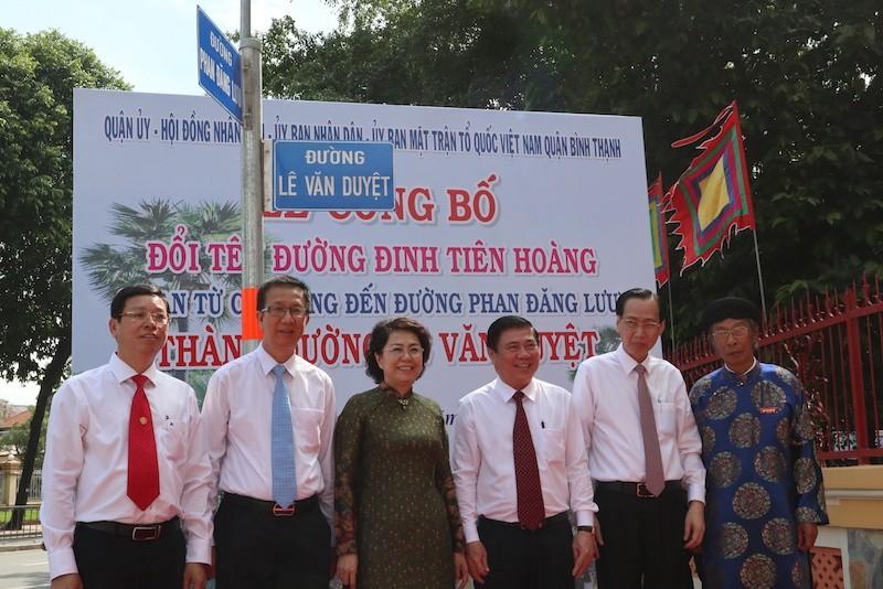 TP.HCM chính thức có đường Lê Văn Duyệt - ảnh 5