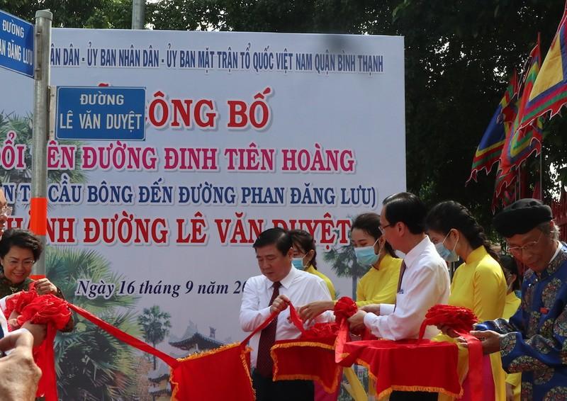 TP.HCM chính thức có đường Lê Văn Duyệt - ảnh 1