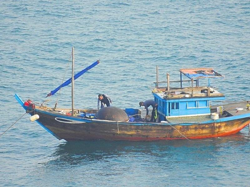Dùng thuốc nổ đánh cá ngay trong vịnh Đà Nẵng? - ảnh 1