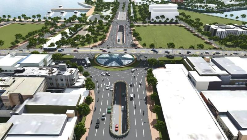 Đà Nẵng: Đầu tư 550 tỉ đồng xây nút giao ba tầng - ảnh 1