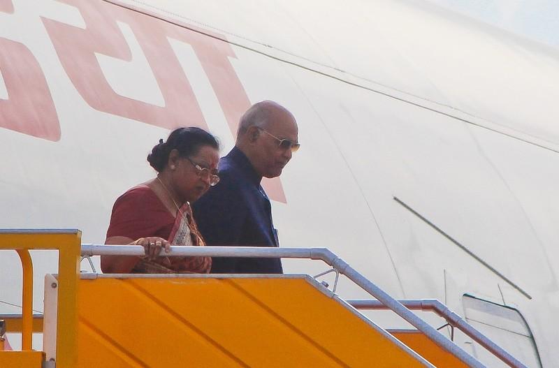 Tổng thống Ấn Độ cùng phu nhân đã tới TP Đà Nẵng  - ảnh 2