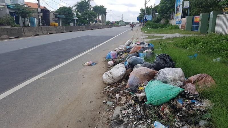 Quảng Ngãi: Quốc lộ 1 hóa thành bãi rác khổng lồ - ảnh 5