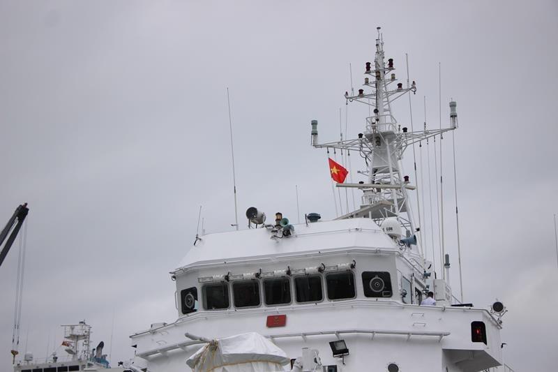 Tàu lực lượng bảo vệ bờ biển Ấn Độ cập cảng Đà Nẵng - ảnh 5