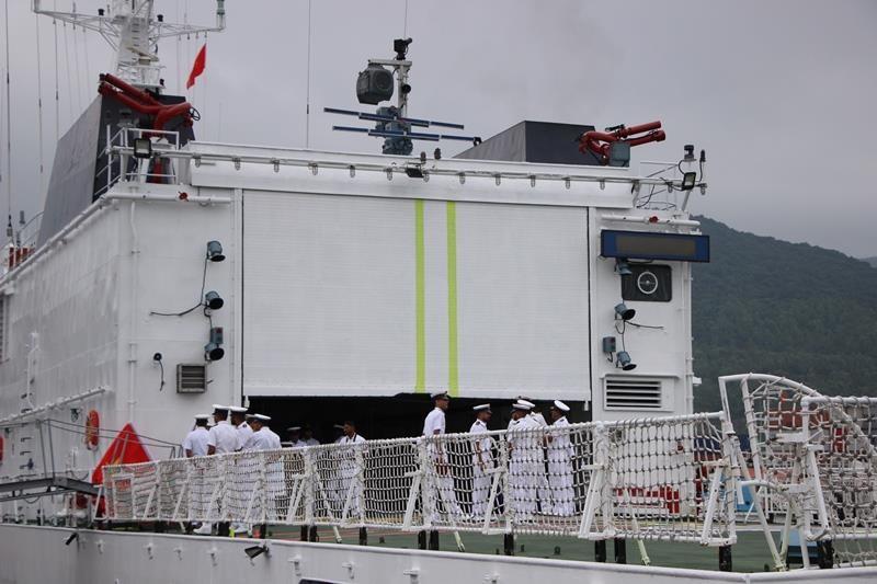 Tàu lực lượng bảo vệ bờ biển Ấn Độ cập cảng Đà Nẵng - ảnh 6