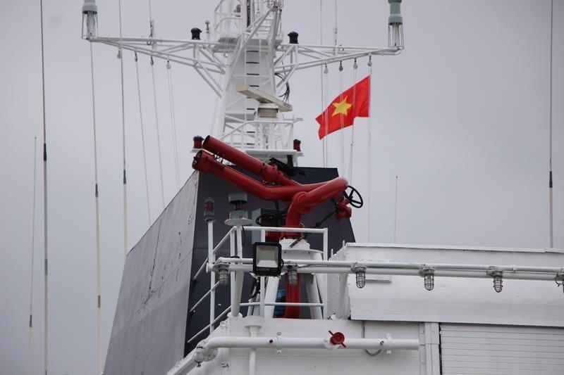 Tàu lực lượng bảo vệ bờ biển Ấn Độ cập cảng Đà Nẵng - ảnh 7