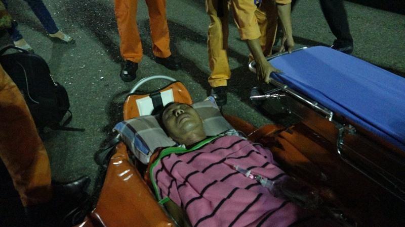 Cứu 1 thuyền trưởng bất tỉnh do mất máu ở vùng biển Hoàng Sa - ảnh 2