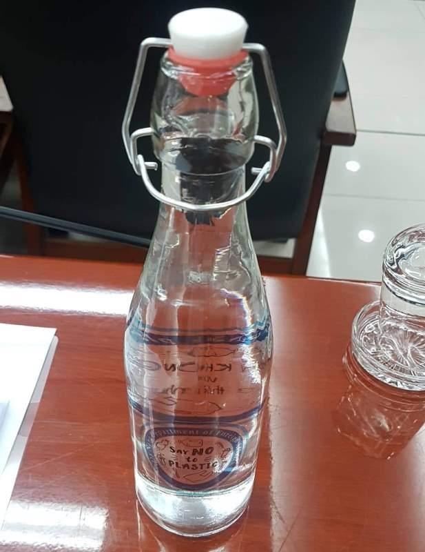 Chai nhựa 'hết cửa' vào các cuộc họp, hội thảo tại Đà Nẵng - ảnh 1