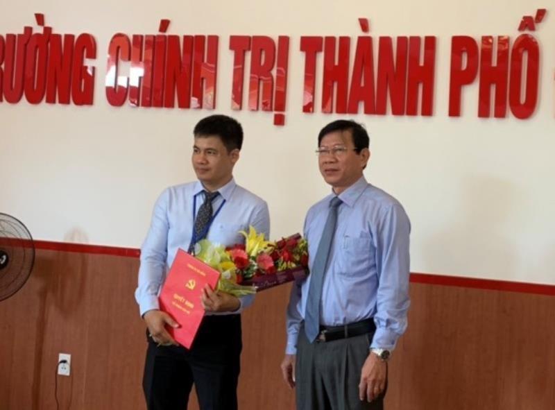 Nguyên thư ký ông Bá Thanh làm Hiệu trưởng Trường chính trị - ảnh 1