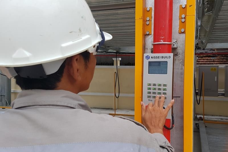 Mục sở thị bãi đỗ xe lắp ghép công nghệ Nhật tại Đà Nẵng - ảnh 2