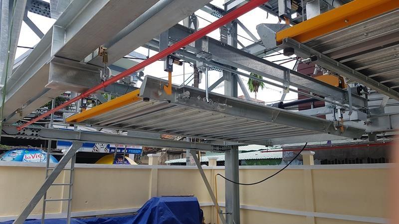 Mục sở thị bãi đỗ xe lắp ghép công nghệ Nhật tại Đà Nẵng - ảnh 3
