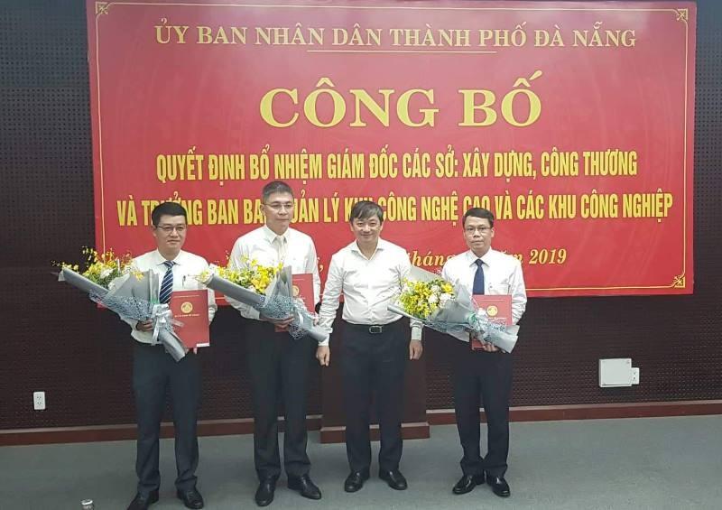 Đà Nẵng có 2 tân giám đốc sở - ảnh 1