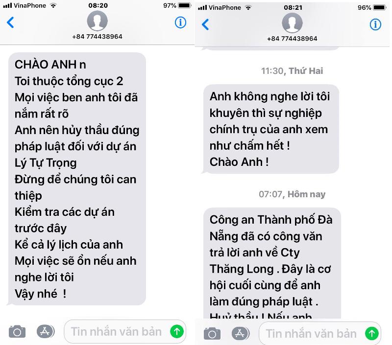 Tổng cục 2 vào cuộc vụ giám đốc BQL dự án tại Đà Nẵng bị dọa - ảnh 2