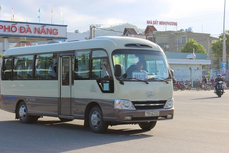 Tuyến cố định liên tỉnh Huế - Đà Nẵng chính thức thành xe buýt - ảnh 1