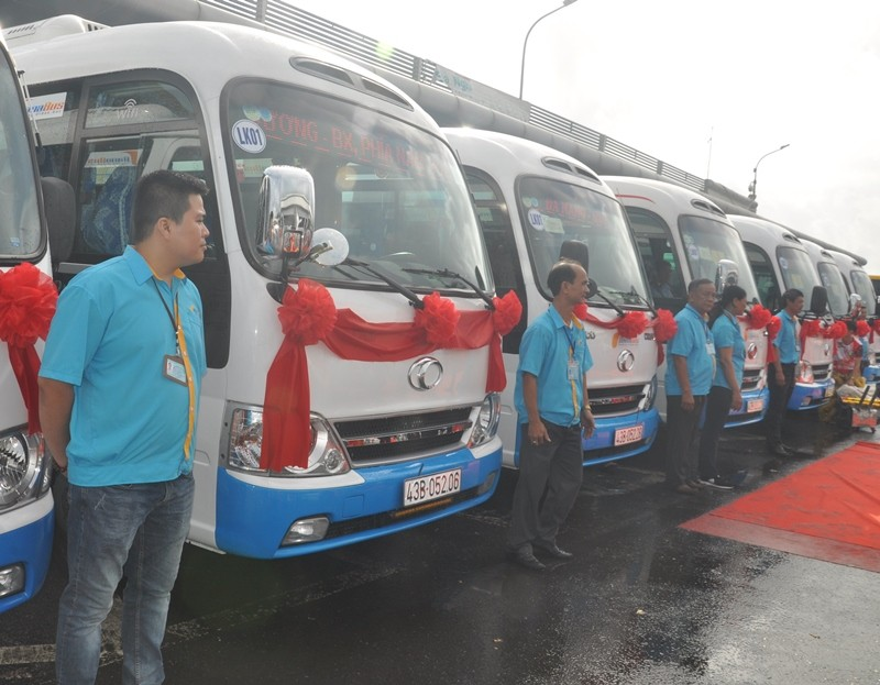 Chính thức khai trương tuyến xe buýt liên tỉnh Đà Nẵng - Huế - ảnh 2