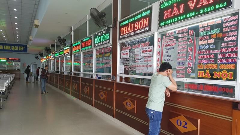 Đà Nẵng: Bến xe giảm khách, ga tàu cháy vé - ảnh 1
