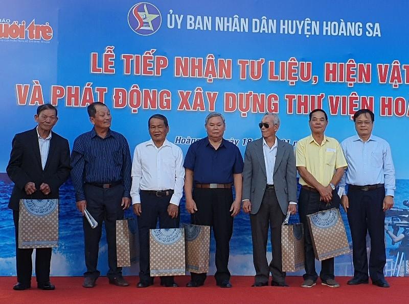 Đà Nẵng: Phát động xây dựng thư viện Hoàng Sa - ảnh 4