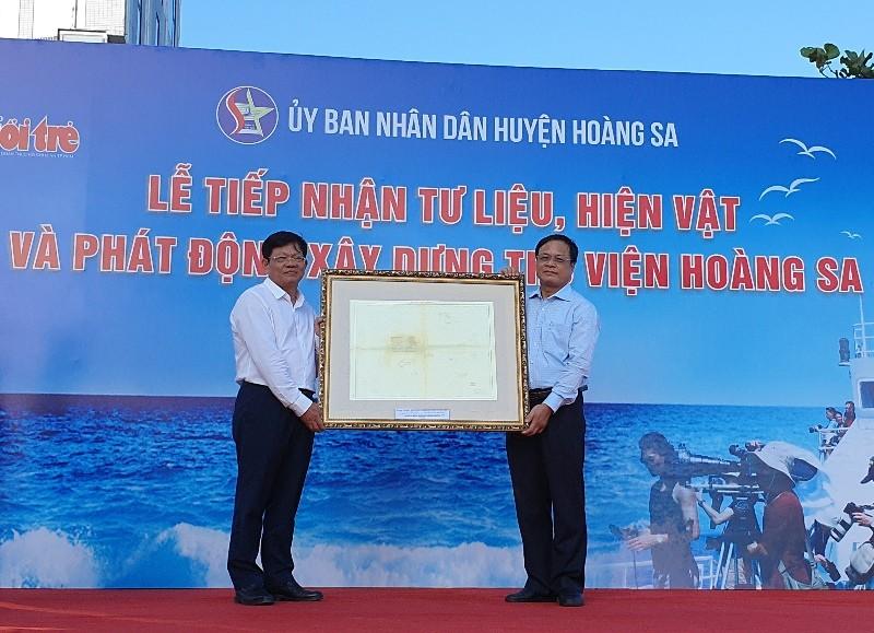 Đà Nẵng: Phát động xây dựng thư viện Hoàng Sa - ảnh 2