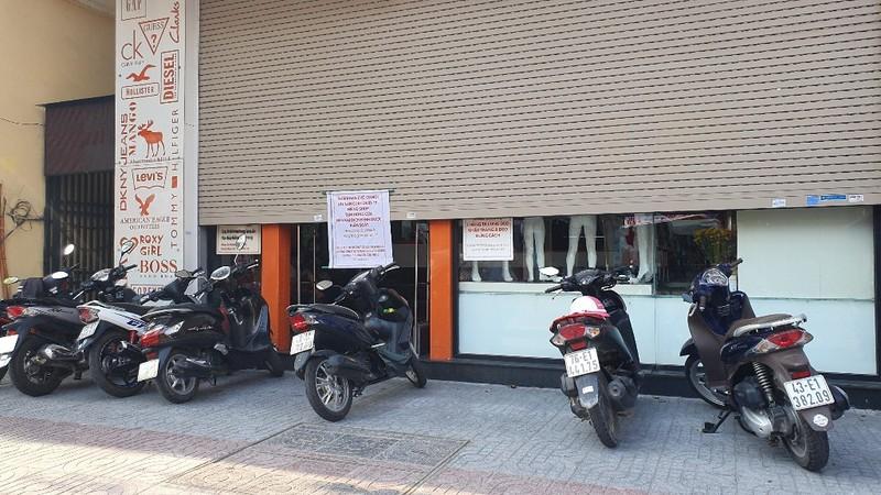 Nhiều cửa hàng tại Đà Nẵng đóng cửa, trả mặt bằng vì COVID-19 - ảnh 10