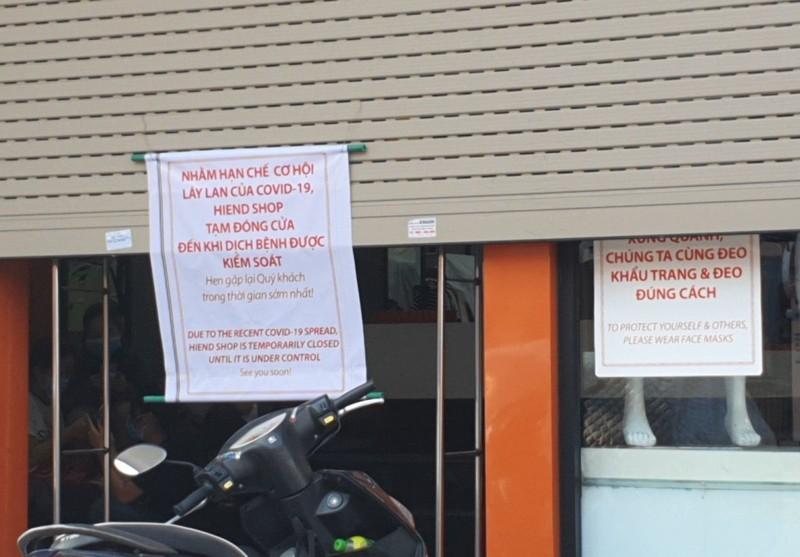 Nhiều cửa hàng tại Đà Nẵng đóng cửa, trả mặt bằng vì COVID-19 - ảnh 11