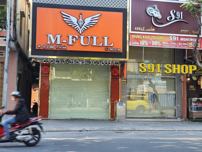 Nhiều cửa hàng tại Đà Nẵng đóng cửa, trả mặt bằng vì COVID-19 - ảnh 4