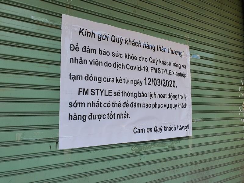 Nhiều cửa hàng tại Đà Nẵng đóng cửa, trả mặt bằng vì COVID-19 - ảnh 9
