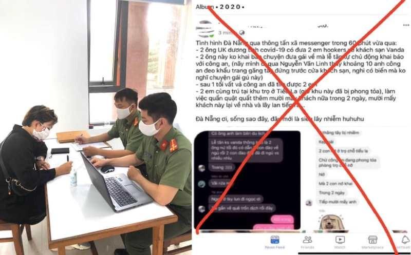 Đà Nẵng liên tiếp phạt người đăng tin giả về COVID-19 - ảnh 1