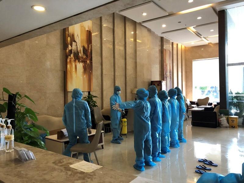 Bên trong khách sạn tại Đà Nẵng tự nguyện thành khu cách ly - ảnh 8