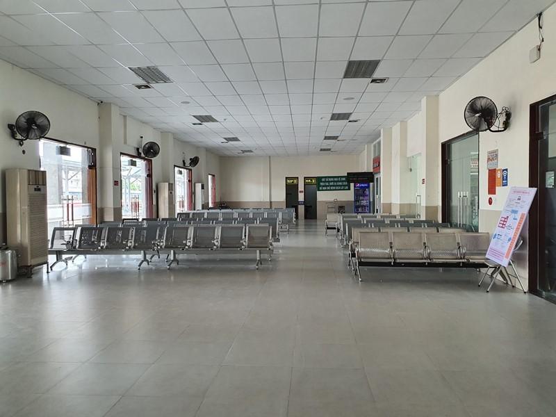Quy trình nghiêm ngặt phòng COVID-19 tại ga Đà Nẵng - ảnh 1
