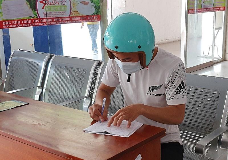 Quy trình nghiêm ngặt phòng COVID-19 tại ga Đà Nẵng - ảnh 4