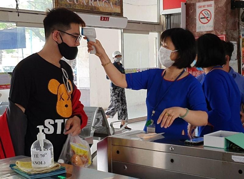 Quy trình nghiêm ngặt phòng COVID-19 tại ga Đà Nẵng - ảnh 6