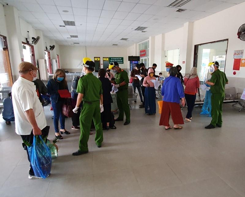 Quy trình nghiêm ngặt phòng COVID-19 tại ga Đà Nẵng - ảnh 9