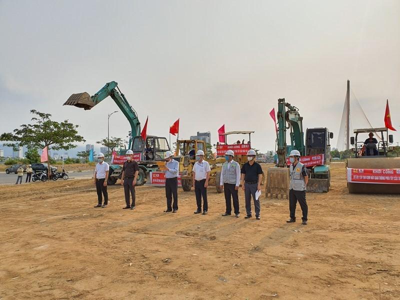 Đà Nẵng khởi công nút giao 3 tầng hơn 723 tỉ đồng - ảnh 1